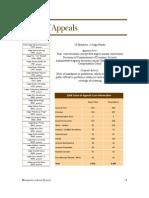 Minnesota Appellate Courts 2008 Statistics