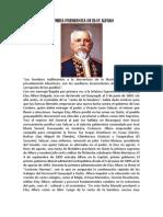 Primera Presidencia de Eloy Alfaro