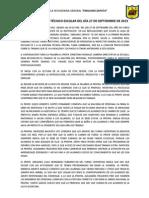 Actas Mensuales Del c.t.e.