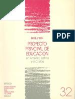 PROYECTO PRINCIPAL DE EDUCACIÓN EN AMERICA LATINA