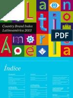 Country Brand Index - Latinoamerica