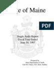 Maine 1997 CAFR
