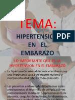Hipertension en El Embarazo