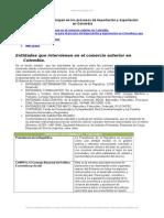 Entidades Que Participan Proceso Impo y Expor Colombia