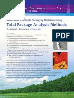 SES - Total Package Analysis Methods