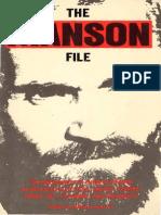 Schreck Nikolas - The Manson File