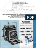 Pacemaker Speedgraphic 1000