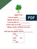 student teaching apple poem version 2