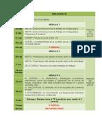 Cronograma PST 2013