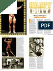 Mike Mentzer Heavy Duty Training System - IronMan