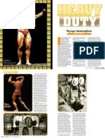 Mike Mentzer Heavy Duty Training System - IronMan
