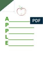 student teaching apple poem version 3