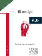 Beatriz García Marañón - El testigo