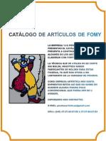 catálogo de Fomy