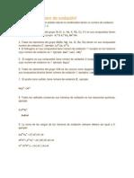 Reglas de número de oxidación