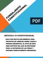 Fundamento Constitucional de Los Sistemas Penitenciarios en Mexico