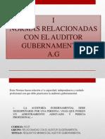 Normas Relacionadas Con El Auditor Gubernamental