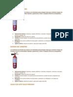 Clases de Extintores