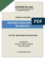 Enfoque Educativo Nicaragua