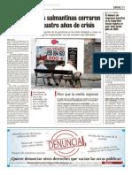 Cierre de Empresas en Salamanca