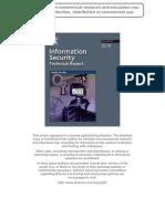 ISTR2008 Spontaneous Mobile Sensor Authentication