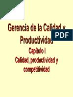 Calidad-productividad y Competitividad Cap i