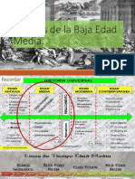 Crisis de La Baja Edad Media.