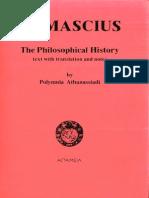 Damascius the Philosophical History