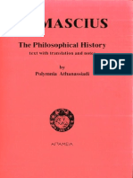 Damascius the Philosophical History