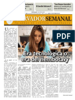 Observador Semanal del 17/10/2013