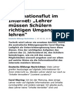 Informationsflut im Internet
