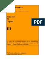 Ranciere Jacques Para Leer El Capital Vol III 1973