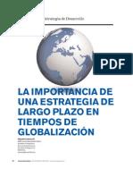 Estrategia de largo plazo Globalizaciòn