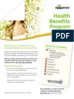 IsaGenix Healthcare Benefits Flyer