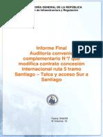 informe contraloria 2009