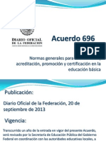 Acuerdo 696 Presentación