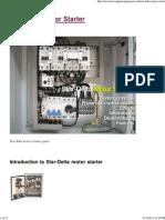 Star-Delta Motor Starter _ EEP