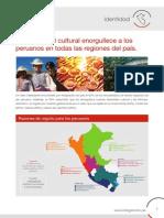 La diversidad cultural enorgullece a los peruanos en todas las regiones  del país
