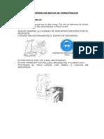 Torno Pinacho Manual