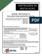 Manual Gem Rp3dgtl Programacao