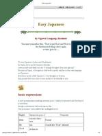 Easy Japanese 1