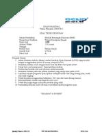 [Kode] STK Paket a [Nama KK]