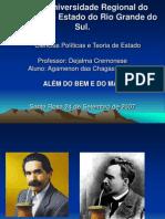 ALÉM DO BEM E DO MAL - NIETZCHE