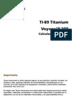 Manual Voyage 200 Español