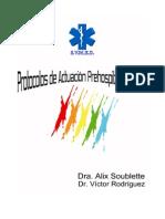 Protocolos de Actuacion 2009-SVMED