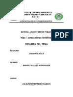 Resumen de Administracion Publica Tema 1