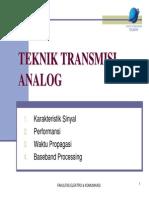 BAB III Teknik Transmisi Analog