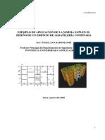 Manual SAP2000 - Edificio Albañileria Confinada