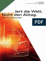 Audi A3 e-tron & A3 g-tron Flyer (IAA 2013)