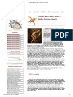Mitologia Greca e Latina, Sisifo, Smirna, Sparti